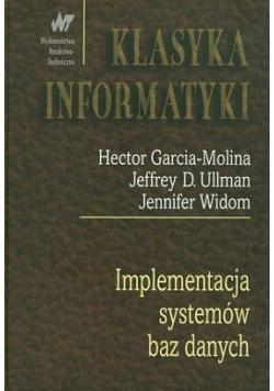 Implementacja systemów baz danych wyd I