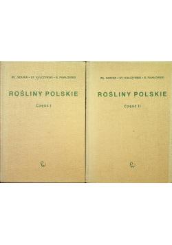 Rośliny polskie część I i II