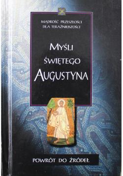 Myśli Świętego Augustyna