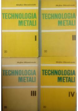 Technologia metali Część od I do IV