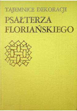 Tajemnice dekoracji Psałterza Floriańskiego