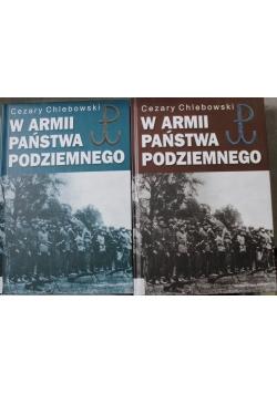 W Armii Państwa Podziemnego zestaw 2 książek