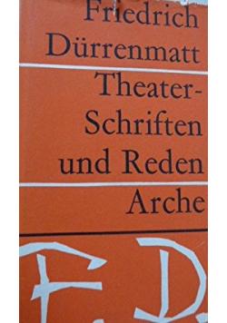 Theater Schriften und Reden arche