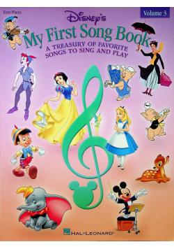 Disneys My First Songbook volume 3