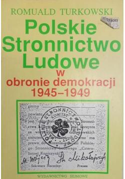 Polskie Stronnictwo Ludowe w obronie demokracji