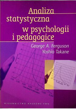 Analiza statystyczna w psychologii i pedagogice