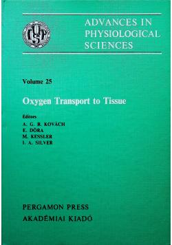Oxygen Transport to Tissue
