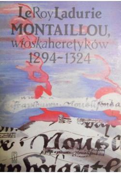 Montaillou wioska heretyków 1294-1324