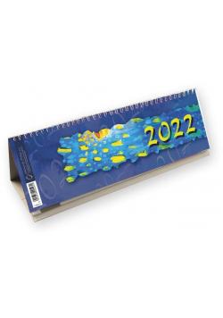 Kalendarz 2022 poziomy ze spiralką T-100-2-09