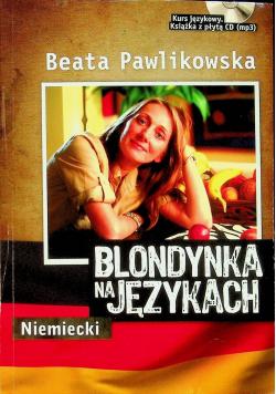 Blondynka na językach Niemiecki plus płyta CD