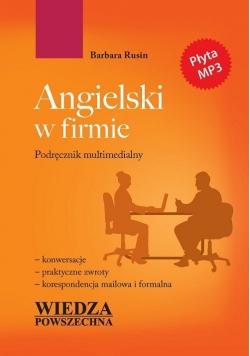 Angielski w firmie Podręcznik multimedialny plus płyta CD Nowa