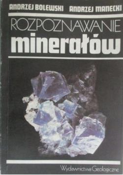 Rozpoznawanie minerałów
