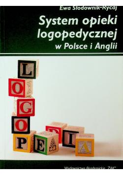 System opieki logopedycznej w Polsce i Anglii