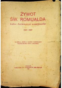 Żywot Św Romualda 1927 r.