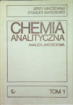 Chemia analityczna Analiza jakościowa