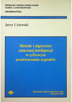 Metody i algorytmy sztucznej inteligencji w cyfrowym przetwarzaniu sygnałów