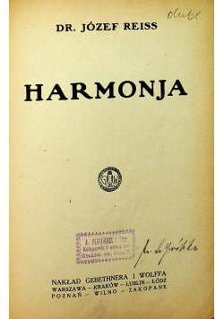 Harmonja 1923 r