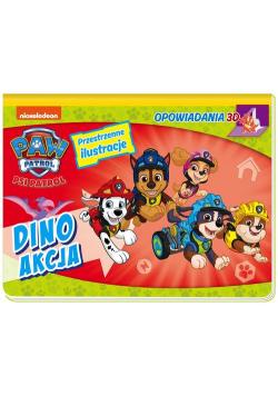 Psi Patrol. Opowiadania 3D. Dino akcja.