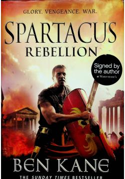 Spartacus rebellion Plus autograf Kane