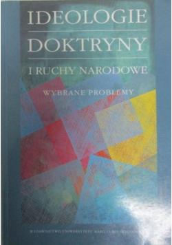Ideologie doktryny i ruchy narodowe Wybrane problemy