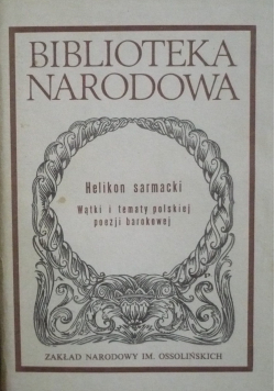 Wątki i tematy polskiej poezji barokowej