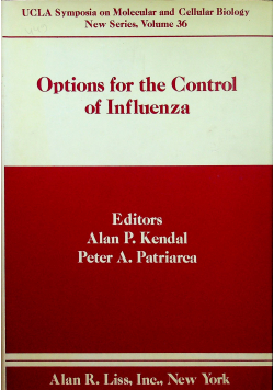 Options for the Control of Influenza