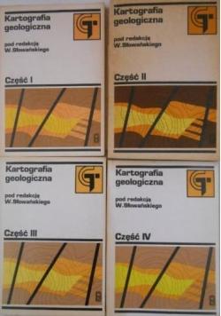 Kartografia geologiczna 4 tomy