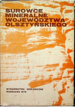 Surowce mineralne województwa Olsztyńskiego