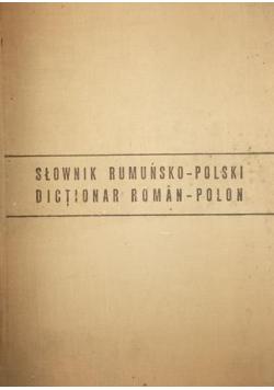 Słownik rumuńsko-polski