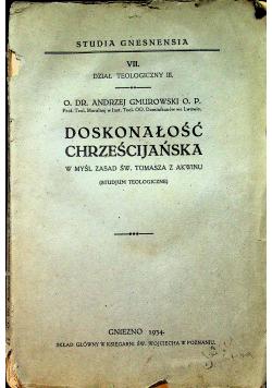 Doskonałość chrześcijańska 1934 r