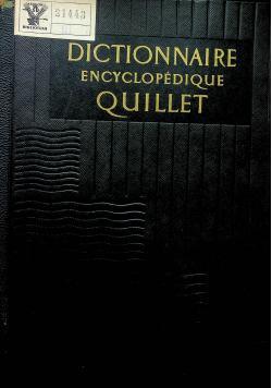 Dictionnaire encyclopedique Quillet A Chars