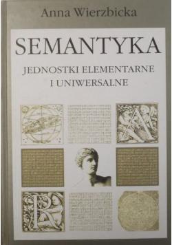 Semantyka Jednostki elementarne i uniwersalne