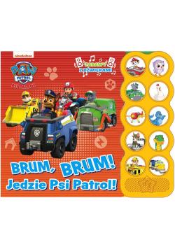 Psi Patrol Zabawy z dźwiękami Brum, Brum! Jedzie Psi Patrol!