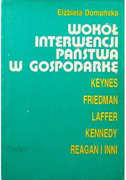 Wokół interwencji państwa w gospodarkę