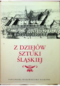 Z dziejów sztuki Śląskiej