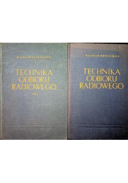Technika Odbioru Radiowego Tom I i II