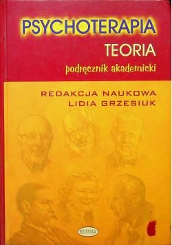 Psychoterapia Teoria Podręcznik akademicki
