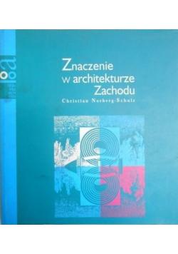 Znaczenie w architekturze Zachodu