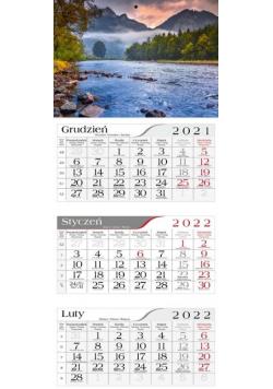 Kalendarz 2022 Trójdzielny Nad Dunajcem CRUX