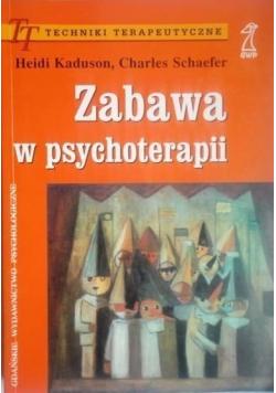 Zabawa w psychoterapii