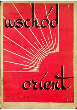 Wschód Orient numer 2 1938r