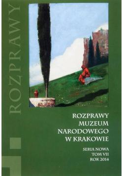 Rozprawy Muzeum Narodowego w Krakowie T.7