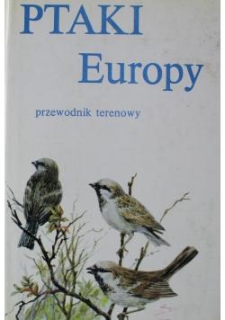 Ptaki Europy przewodnik terenowy