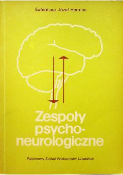 Zespoły psychoneurologiczne