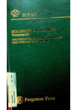 Solublity data series volume 20