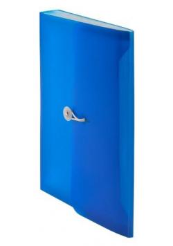 Teczka harmonijkowa z gumką A4 nieb. BT622-N