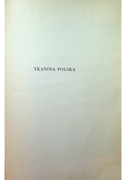 Tkanina polska