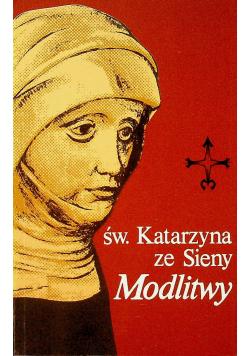Święta Katarzyna ze Sieny Modlitwy