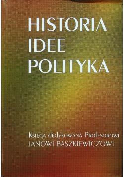 Historia idee polityka