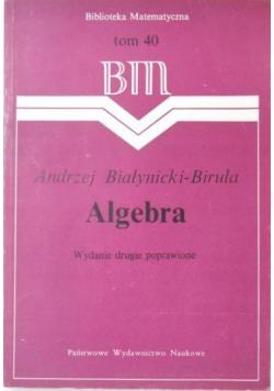 Algebra Tom 40